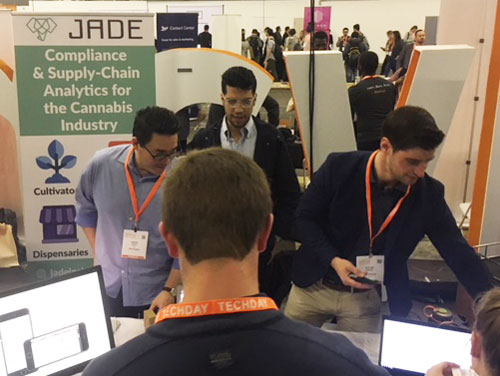 The Jade Insights booth