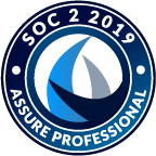SOC 2 2019 seal from Assure Professional