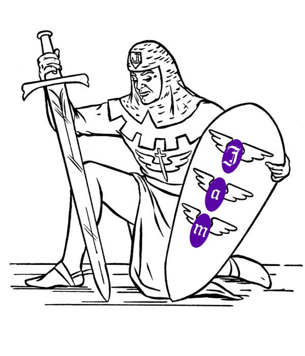 Knight with a Jamstack shield
