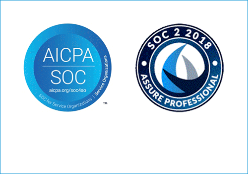 SOC 2 certification seals