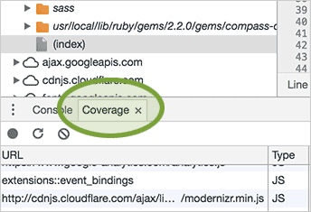google Chrome coverage taG