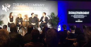 A panel at the Fast Company Innovation Festival 2017